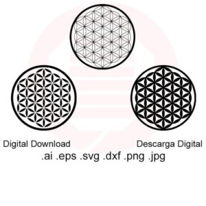 Shop Crystal Healing Charging Plates & Crystal Grid Mats! Flower of life SVG Kabbalah symbol Crystal grid Healing grid SVG Sacred geometry vector printable wall art decal cut file digital download | Shop jewelry making and beading supplies, tools & findings for DIY jewelry making and crafts. #jewelrymaking #diyjewelry #jewelrycrafts #jewelrysupplies #beading #affiliate #ad