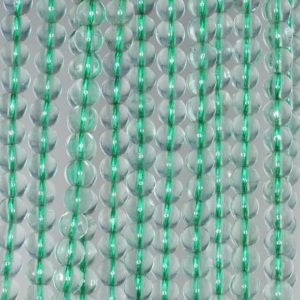 5mm Green Fluorite Gemstone Grade A Round Loose Beads 15.5 Inch Full Strand (90187785-684) | Natural genuine beads Gemstone beads for beading and jewelry making.  #jewelry #beads #beadedjewelry #diyjewelry #jewelrymaking #beadstore #beading #affiliate #ad
