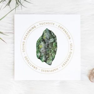 Shop Printable Crystal Cards & Pages! Fuchsite Crystal Meaning – Jewelry Display Card – Printable – Crystal Gift Box Card – Product Tag- Jewelry Box Insert – Reiki Crystal Card | Shop jewelry making and beading supplies, tools & findings for DIY jewelry making and crafts. #jewelrymaking #diyjewelry #jewelrycrafts #jewelrysupplies #beading #affiliate #ad