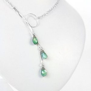 Shop Alexandrite Necklaces! Green Alexandrite Necklace – June Birthstone – Mystic Celestial Jewelry – Layered and Long – low back necklace – Mother in law gift daughter | Natural genuine Alexandrite necklaces. Buy crystal jewelry, handmade handcrafted artisan jewelry for women.  Unique handmade gift ideas. #jewelry #beadednecklaces #beadedjewelry #gift #shopping #handmadejewelry #fashion #style #product #necklaces #affiliate #ad