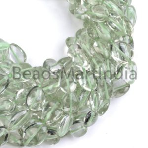 Shop Green Amethyst Beads! Green Amethyst Plain Smooth Nugget Gemstone Beads , Green Amethyst Plain Beads, Green Amethyst Beads, Green Amethyst Nugget Shape Beads | Natural genuine chip Green Amethyst beads for beading and jewelry making.  #jewelry #beads #beadedjewelry #diyjewelry #jewelrymaking #beadstore #beading #affiliate #ad