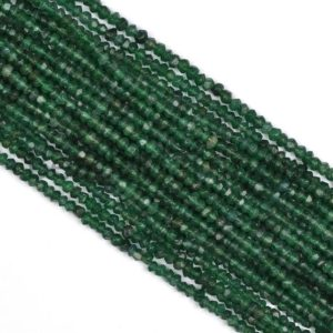Shop Aventurine Rondelle Beads! Green Aventurine Faceted Rondelle Beads, Aventurine Beads, Green Aventurine Beads,Natural Green Aventurine Rondelle Beads, Rondelle Beads | Natural genuine rondelle Aventurine beads for beading and jewelry making.  #jewelry #beads #beadedjewelry #diyjewelry #jewelrymaking #beadstore #beading #affiliate #ad