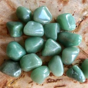 Shop Tumbled Aventurine Crystals & Pocket Stones! Green Aventurine Tumbled Stones | Aventurine Crystal | Crystal Healing | Healing Stones For Luck & Growth | Crystal Grids |Reiki | Natural genuine stones & crystals in various shapes & sizes. Buy raw cut, tumbled, or polished gemstones for making jewelry or crystal healing energy vibration raising reiki stones. #crystals #gemstones #crystalhealing #crystalsandgemstones #energyhealing #affiliate #ad