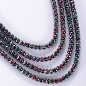 Shop Hematite Bead Shapes! hematite beads rainbow stones multi color beads for jewelry making gemstone beads 4 mm colorful hematite beads | Natural genuine other-shape Hematite beads for beading and jewelry making.  #jewelry #beads #beadedjewelry #diyjewelry #jewelrymaking #beadstore #beading #affiliate #ad