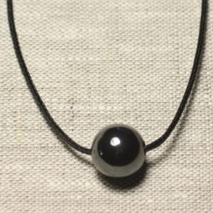 Shop Hematite Pendants! Necklace Pendant Gemstone – Hematite Ball 14mm | Natural genuine Hematite pendants. Buy crystal jewelry, handmade handcrafted artisan jewelry for women.  Unique handmade gift ideas. #jewelry #beadedpendants #beadedjewelry #gift #shopping #handmadejewelry #fashion #style #product #pendants #affiliate #ad