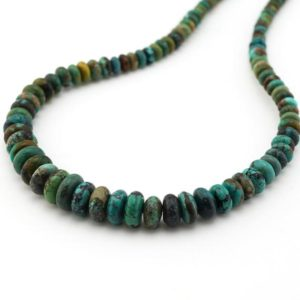Shop Turquoise Rondelle Beads! Hubei turquoise rondelle beads, blue green stone, Irina Miech, graduated from 4mm to 10mm | Natural genuine rondelle Turquoise beads for beading and jewelry making.  #jewelry #beads #beadedjewelry #diyjewelry #jewelrymaking #beadstore #beading #affiliate #ad