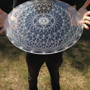 Shop Crystal Healing! Hypermetatron Sacred Geometry Laser Cut Crystal Grid | Shop jewelry making and beading supplies, tools & findings for DIY jewelry making and crafts. #jewelrymaking #diyjewelry #jewelrycrafts #jewelrysupplies #beading #affiliate #ad