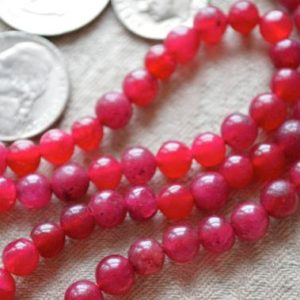 Shop Jade Necklaces! Manifestation Mala Beads – Red Jade Handmade Necklace -Blessed & Energized Karma Nirvana Meditation 6-7 mm Prayer Beads For Awakening Ch | Natural genuine Jade necklaces. Buy crystal jewelry, handmade handcrafted artisan jewelry for women.  Unique handmade gift ideas. #jewelry #beadednecklaces #beadedjewelry #gift #shopping #handmadejewelry #fashion #style #product #necklaces #affiliate #ad