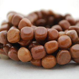 "Shop Jasper Chip & Nugget Beads! High Quality Grade A Natural Tiger Zebra Jasper Semi-precious Gemstone Pebble Tumbled stone Nugget Beads approx 7mm-10mm – 15"" strand 