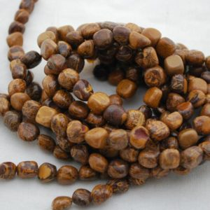 "Shop Jasper Chip & Nugget Beads! High Quality Grade A Natural Elephant Skin Jasper Semi-precious Gemstone Pebble Tumbled Stone Nugget Beads – Approx 7mm-10mm – 15"" Strand 
