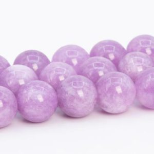 Quartz Beads Kunzite Purple Color Grade AAA Natural Gemstone Round Loose Beads 6MM 8MM 10MM 12MM Bulk Lot Options | Natural genuine beads Gemstone beads for beading and jewelry making.  #jewelry #beads #beadedjewelry #diyjewelry #jewelrymaking #beadstore #beading #affiliate #ad