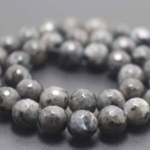 128 Faceted Black Labradorite Round Beads,6mm/8mm/10mm/12mm Gemstone Beads Supply,15 inches one starand | Natural genuine faceted Array beads for beading and jewelry making.  #jewelry #beads #beadedjewelry #diyjewelry #jewelrymaking #beadstore #beading #affiliate #ad
