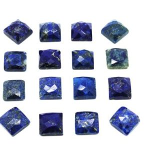 Shop Lapis Lazuli Stones & Crystals! Square cabochons,Lapis gemstone,Lapis cabochons,natural gemstones,blue cabochons,navy blue Lapis,loose gemstone – AA Quality | Natural genuine stones & crystals in various shapes & sizes. Buy raw cut, tumbled, or polished gemstones for making jewelry or crystal healing energy vibration raising reiki stones. #crystals #gemstones #crystalhealing #crystalsandgemstones #energyhealing #affiliate #ad