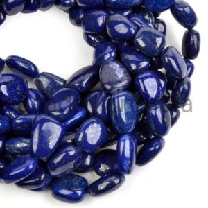 Shop Lapis Lazuli Chip & Nugget Beads! Lapis Lazuli Plain Smooth Nugget Gemstone Beads , Lapis Lazuli Plain Beads, Lapis Lazuli Beads, Lapis Lazuli Nugget Shape Beads | Natural genuine chip Lapis Lazuli beads for beading and jewelry making.  #jewelry #beads #beadedjewelry #diyjewelry #jewelrymaking #beadstore #beading #affiliate #ad