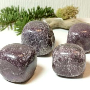 Shop Tumbled Lepidolite Crystals & Pocket Stones! Lepidolite Natural Tumbled Stone Lilac Purple Polished Pocket Stones Healing Energy Transition Emotional Balance Reducing Depression  51042 | Natural genuine stones & crystals in various shapes & sizes. Buy raw cut, tumbled, or polished gemstones for making jewelry or crystal healing energy vibration raising reiki stones. #crystals #gemstones #crystalhealing #crystalsandgemstones #energyhealing #affiliate #ad