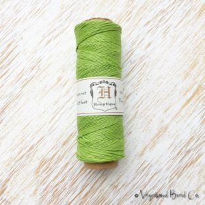 Lime Green Hemp, Premium Quality Micro Hemp Cord .5mm / #10 / 205ft, Macrame Jewelry Cord, Hemp Jewelry String, Macrame Cord, Hemp (HC069)