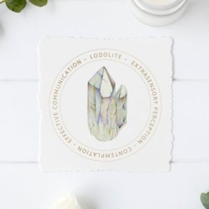 Shop Printable Crystal Cards, Pages, & Posters! Lodolite Quartz Crystal Card – Jewelry Display Card – Printable File – Crystal Meaning Card – Gift Box Card – Product Tag | Shop jewelry making and beading supplies, tools & findings for DIY jewelry making and crafts. #jewelrymaking #diyjewelry #jewelrycrafts #jewelrysupplies #beading #affiliate #ad