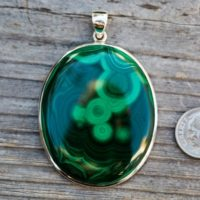 Malachite Pendant – High Contrast Malachite -malachite Gemstone Pendant, Green Malachite – Malachite Jewelry – Lovely Pattern Malachite | Natural genuine Gemstone jewelry. Buy crystal jewelry, handmade handcrafted artisan jewelry for women.  Unique handmade gift ideas. #jewelry #beadedjewelry #beadedjewelry #gift #shopping #handmadejewelry #fashion #style #product #jewelry #affiliate #ad