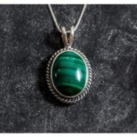 Large Pendant, Malachite Pendant, Natural Malachite, Vintage Pendant, Green Malachite, Large Stone, Green Pendant, Silver Pendant, Malachite | Natural genuine Gemstone jewelry. Buy crystal jewelry, handmade handcrafted artisan jewelry for women.  Unique handmade gift ideas. #jewelry #beadedjewelry #beadedjewelry #gift #shopping #handmadejewelry #fashion #style #product #jewelry #affiliate #ad