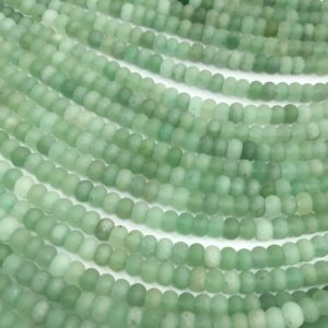 Shop Aventurine Rondelle Beads! Matte Green Aventurine Rondelle Beads ,Gemstone Loose Beads 6mm 8mm | Natural genuine rondelle Aventurine beads for beading and jewelry making.  #jewelry #beads #beadedjewelry #diyjewelry #jewelrymaking #beadstore #beading #affiliate #ad