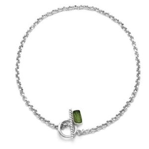 Shop Moldavite Necklaces! Moldavite necklace, meteorite necklace, silver chain necklace, toggle clasp necklace, raw stone necklace, handmade necklace | Natural genuine Moldavite necklaces. Buy crystal jewelry, handmade handcrafted artisan jewelry for women.  Unique handmade gift ideas. #jewelry #beadednecklaces #beadedjewelry #gift #shopping #handmadejewelry #fashion #style #product #necklaces #affiliate #ad