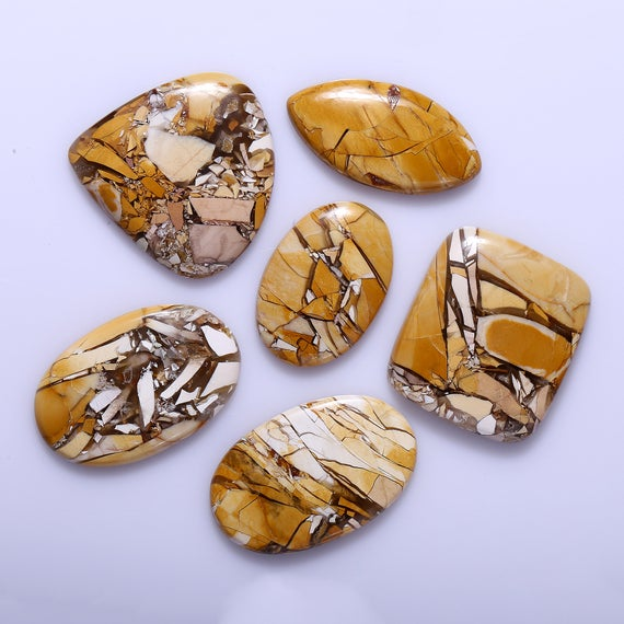 Brecciated Mookaite Aaa Quality Brecciated Mookaite Jasper Cabochon Natural Mookaite Jasper Smooth Cabochon Mixed Shape Loose Gemstone