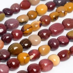 Shop Mookaite Beads! Genuine Natural Mookaite Loose Beads Pebble Nugget Shape 8-10mm | Natural genuine chip Mookaite beads for beading and jewelry making.  #jewelry #beads #beadedjewelry #diyjewelry #jewelrymaking #beadstore #beading #affiliate #ad
