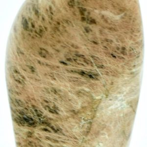 """Shop Moonstone Shapes! Peach Moonstone Freeform 5.2"""" And Weighs 1.65 Pounds 