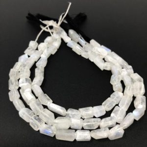 Shop Rainbow Moonstone Beads! Rainbow Moonstone Beads, Natural Gemstone Beads, Nugget Beads, Jewelry Supplies, Bulk Wholesale Beads, 9x8mm – 13x9mm | Natural genuine beads Rainbow Moonstone beads for beading and jewelry making.  #jewelry #beads #beadedjewelry #diyjewelry #jewelrymaking #beadstore #beading #affiliate #ad