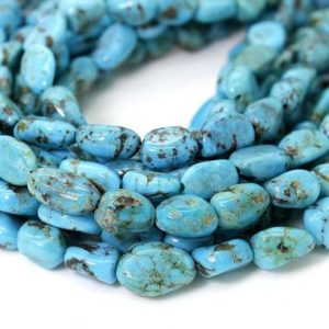 Shop Gemstone Chip & Nugget Beads! Natural Turquoise Beads, Genuine Turquoise Smooth Rough Rondelle Nugget Chip Loose Gemstone Beads (Assorted Size) – PGS246 | Natural genuine chip Gemstone beads for beading and jewelry making.  #jewelry #beads #beadedjewelry #diyjewelry #jewelrymaking #beadstore #beading #affiliate #ad