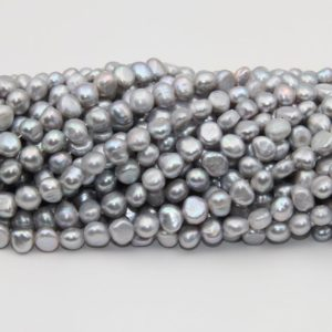 Shop Freshwater Pearls! Fresh Water Nugget Pearl Beads,Gray Color Pearl,Loose Pearl Beads,8~9mm Size Pearl,Natural Seed Freshwater Pearl,Good Pearl Jewelry Beads. | Natural genuine beads Pearl beads for beading and jewelry making.  #jewelry #beads #beadedjewelry #diyjewelry #jewelrymaking #beadstore #beading #affiliate #ad