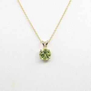 Shop Peridot Necklaces! 7mm AAA Peridot Necklace.Peridot Solitaire Necklace.August Birthstone Necklace.Women's Simple Necklace.Dainty Natural Peridot Necklace | Natural genuine Peridot necklaces. Buy crystal jewelry, handmade handcrafted artisan jewelry for women.  Unique handmade gift ideas. #jewelry #beadednecklaces #beadedjewelry #gift #shopping #handmadejewelry #fashion #style #product #necklaces #affiliate #ad