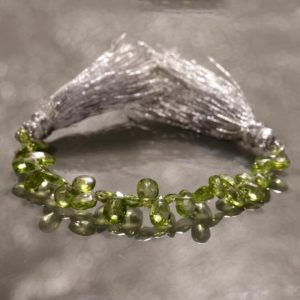 Shop Peridot Bead Shapes! Peridot pear gemstone beads strand for jewelry making 9 cm peridot strand 6-8 mm peridot beads | Natural genuine other-shape Peridot beads for beading and jewelry making.  #jewelry #beads #beadedjewelry #diyjewelry #jewelrymaking #beadstore #beading #affiliate #ad