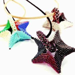 Shop Jewelry Making Tutorials! Peyote Stitch, Herringbone, Chenille Rope, 3D Geometric Star beading patterns, photo beading tutorial, Beading Patterns | Shop jewelry making and beading supplies, tools & findings for DIY jewelry making and crafts. #jewelrymaking #diyjewelry #jewelrycrafts #jewelrysupplies #beading #affiliate #ad