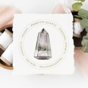 Phantom Quartz Meaning Card – Printable Jewelry Display Card – Crystal Meaning – Digital Download – Healing Crystal Gift Tag – Phantom stone | Shop jewelry making and beading supplies, tools & findings for DIY jewelry making and crafts. #jewelrymaking #diyjewelry #jewelrycrafts #jewelrysupplies #beading #affiliate #ad
