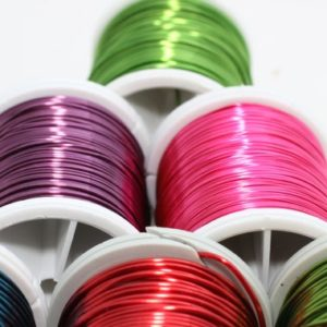 Shop Beading Wire! Pick Your Color, Green, Pink, Purple, Red, Blue, Black, 22 Gauge 0.6 mm 60 Feet 18 meters, Craft Wire, Jewelry wire, Artisan Wire Wrap, WRRI | Shop jewelry making and beading supplies, tools & findings for DIY jewelry making and crafts. #jewelrymaking #diyjewelry #jewelrycrafts #jewelrysupplies #beading #affiliate #ad