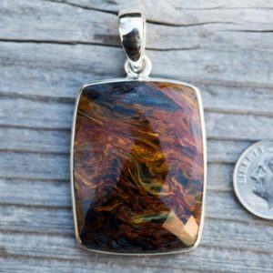 Shop Pietersite Pendants! Pietersite Pendant – Pietersite Checkerboard Cut Pendant – Checkerboard Cut Pietersite Pendant – Stunning Pietersite Pendant Pietersite | Natural genuine Pietersite pendants. Buy crystal jewelry, handmade handcrafted artisan jewelry for women.  Unique handmade gift ideas. #jewelry #beadedpendants #beadedjewelry #gift #shopping #handmadejewelry #fashion #style #product #pendants #affiliate #ad