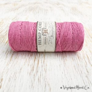 Shop Hemp Twine! Pink Hemp Cord 1mm / #20 / 205ft Premium Quality Hemp Cord, Rose Hemp Cord, Hemp Jewelry Macrame Cord, Jewelry Cord, Macrame Jewelry (HC044) | Shop jewelry making and beading supplies, tools & findings for DIY jewelry making and crafts. #jewelrymaking #diyjewelry #jewelrycrafts #jewelrysupplies #beading #affiliate #ad