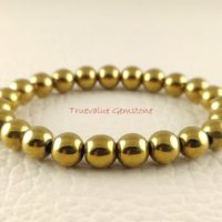 Gold Pyrite Bracelet, Healing For Men & Women, Willpower, Reliability, Optimism, Stability, Calm, Protection, Gift For Men And Women 3338   Natural genuine Gemstone jewelry. Buy handcrafted artisan men's jewelry, gifts for men.  Unique handmade mens fashion accessories. #jewelry #beadedjewelry #beadedjewelry #shopping #gift #handmadejewelry #jewelry #affiliate #ad