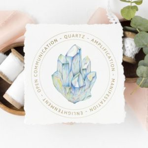 Shop Printable Crystal Cards, Pages, & Posters! Quartz Crystal Card – Crystal Meaning Card – Printable Files – Jewelry Display Card – Product Package Insert – Gift Box Tag | Shop jewelry making and beading supplies, tools & findings for DIY jewelry making and crafts. #jewelrymaking #diyjewelry #jewelrycrafts #jewelrysupplies #beading #affiliate #ad