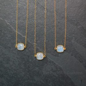 Shop Rainbow Moonstone Necklaces! Gold Moonstone Necklace / Moonstone Necklace / Rainbow Moonstone Necklace /  Moonstone Jewelry / Moonstone Choker | Natural genuine Rainbow Moonstone necklaces. Buy crystal jewelry, handmade handcrafted artisan jewelry for women.  Unique handmade gift ideas. #jewelry #beadednecklaces #beadedjewelry #gift #shopping #handmadejewelry #fashion #style #product #necklaces #affiliate #ad