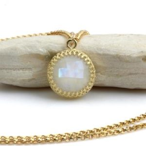 Shop Rainbow Moonstone Pendants! Rainbow moonstone necklace,long pendant necklace,gold necklace,gemstone necklace,natural stone pendant,large pendant | Natural genuine Rainbow Moonstone pendants. Buy crystal jewelry, handmade handcrafted artisan jewelry for women.  Unique handmade gift ideas. #jewelry #beadedpendants #beadedjewelry #gift #shopping #handmadejewelry #fashion #style #product #pendants #affiliate #ad