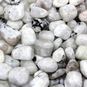 Shop Tumbled Rainbow Moonstone Crystals & Pocket Stones! Rainbow Moonstone AA+ Tumbled Crystal for Emotional Healing, Intuition, Intellect, Divine Feminine, Moon Energy, Insight, Nature, Confidence | Natural genuine stones & crystals in various shapes & sizes. Buy raw cut, tumbled, or polished gemstones for making jewelry or crystal healing energy vibration raising reiki stones. #crystals #gemstones #crystalhealing #crystalsandgemstones #energyhealing #affiliate #ad