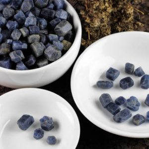 Raw SAPPHIRE Stones – 5, 25, 100 grams – Birthstone, Raw Crystals, for, Wire Wrapping, Jewelry Making  E1519 | Natural genuine stones & crystals in various shapes & sizes. Buy raw cut, tumbled, or polished gemstones for making jewelry or crystal healing energy vibration raising reiki stones. #crystals #gemstones #crystalhealing #crystalsandgemstones #energyhealing #affiliate #ad