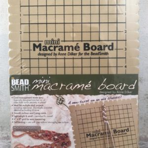 Foam Mini Macrame Board – Friendship Bracelet – Macrame – Stringing – Bracelet Board – Braiding Board – Bracelet Supplies | Shop jewelry making and beading supplies, tools & findings for DIY jewelry making and crafts. #jewelrymaking #diyjewelry #jewelrycrafts #jewelrysupplies #beading #affiliate #ad