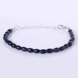 Shop Sapphire Bracelets! Blue Sapphire Bracelet Handmade Gemstone Bracelet Genuine Sapphire Sapphire Jewelry Birthday Gift For Her September Birthstone AA Sapphire | Natural genuine Sapphire bracelets. Buy crystal jewelry, handmade handcrafted artisan jewelry for women.  Unique handmade gift ideas. #jewelry #beadedbracelets #beadedjewelry #gift #shopping #handmadejewelry #fashion #style #product #bracelets #affiliate #ad