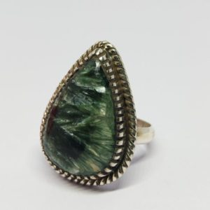 Shop Seraphinite Jewelry! Seraphinite Ring, seraphinite Jewelry 925, Ladies Seraphinite, russian Seraphinite Ring, boho Handmade , christmas Gift For Her | Natural genuine Seraphinite jewelry. Buy crystal jewelry, handmade handcrafted artisan jewelry for women.  Unique handmade gift ideas. #jewelry #beadedjewelry #beadedjewelry #gift #shopping #handmadejewelry #fashion #style #product #jewelry #affiliate #ad