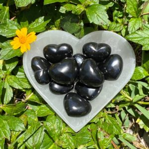 Shop Shungite Shapes! Shungite Puffy Heart, Shungite Heart, Shungite Crystal Heart, Shungite, Purification | Natural genuine stones & crystals in various shapes & sizes. Buy raw cut, tumbled, or polished gemstones for making jewelry or crystal healing energy vibration raising reiki stones. #crystals #gemstones #crystalhealing #crystalsandgemstones #energyhealing #affiliate #ad