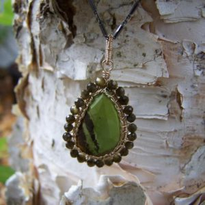Shop Smoky Quartz Necklaces! Gaspeite Faceted Briolette, Smoky Quartz Rondelle, 14k Gold Fill Wrap, Oxidized Sterling Silver Necklace | Natural genuine Smoky Quartz necklaces. Buy crystal jewelry, handmade handcrafted artisan jewelry for women.  Unique handmade gift ideas. #jewelry #beadednecklaces #beadedjewelry #gift #shopping #handmadejewelry #fashion #style #product #necklaces #affiliate #ad