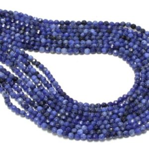 "Shop Sodalite Bead Shapes! Sodalite beads,loose beads,gemstone beads,semiprecious beads,blue beads,long strand beads – 16"" Full Strand 